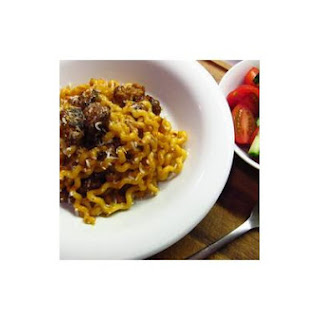 Long Fusilli With Italian Sausages