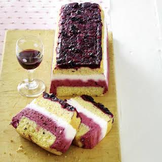 Crème de Cassis Cake.