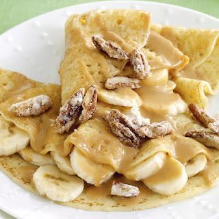 Banana Caramel Crepes