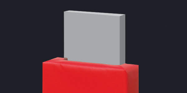 Removable I-Beam Face Pads
