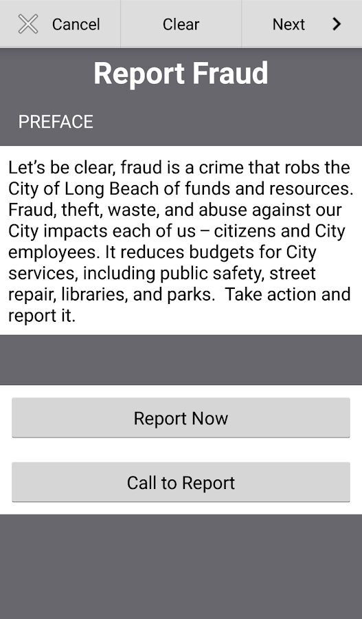 My Long Beach City Auditor- screenshot