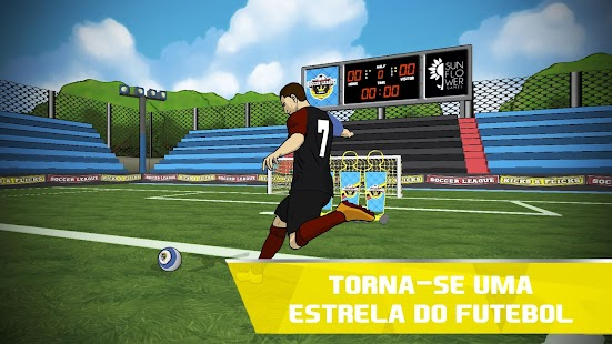 Futebol League Kicks & Flicks screenshot
