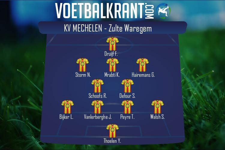 KV Mechelen (KV Mechelen - Zulte Waregem)