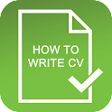 How To Write CV icon