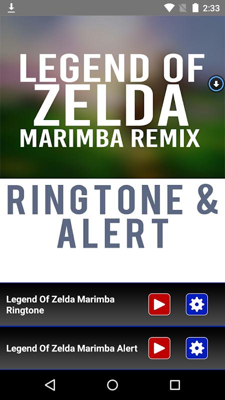 Legend Of Zelda Theme Marimba APK 1 0 Download - Free Music