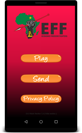 Economic Freedom Fighters Songs - MP3 1.0 screenshots 1