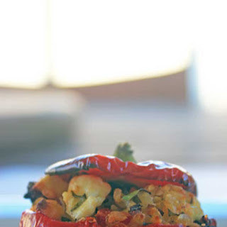 Vegetarian Stuffed Red Peppers Recipes