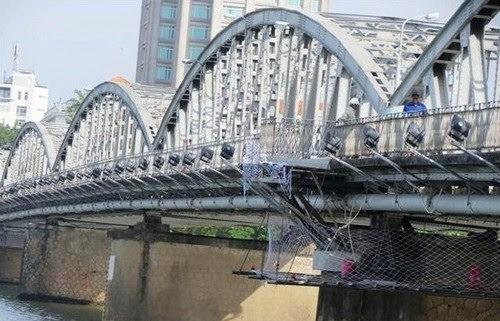 Cầu Trường Tiền sẽ có hệ thống chiếu sáng mới