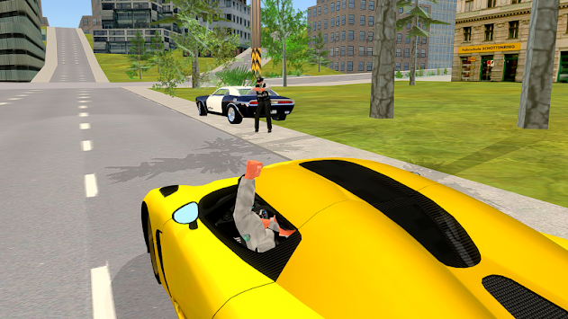 Police Chase - The Cop Car Driver APK screenshot thumbnail 6