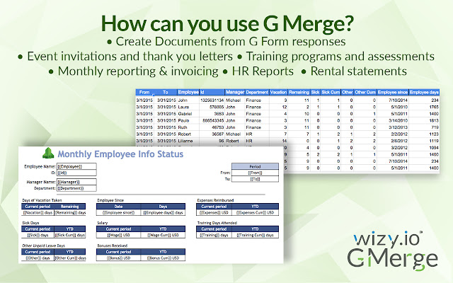 G Merge: Mail & Doc Merge with Attachments   G Suite Marketplace
