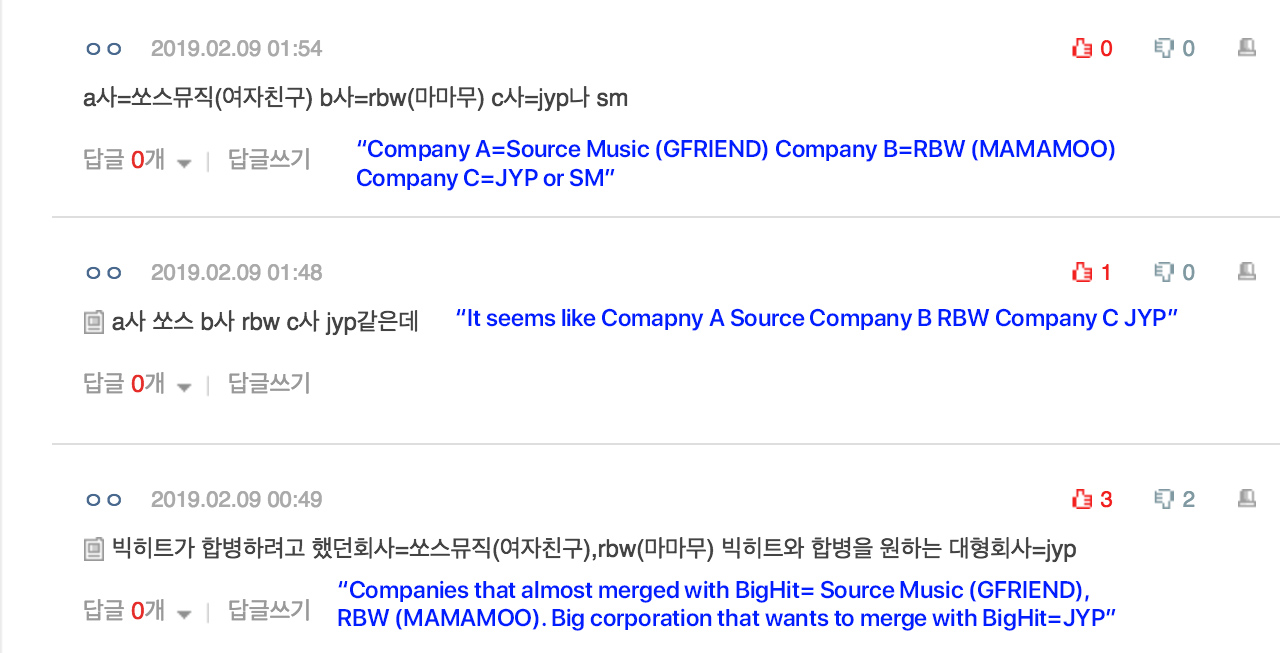 bighit merger source rbw jyp