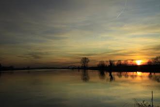 Photo: Landschap in de avondschering. Foto: Jan Dijkstra