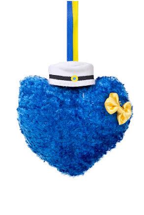 Studenthjärta, blå