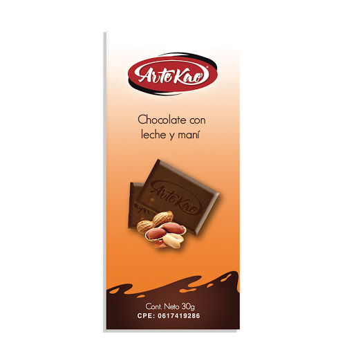 chocolate artekao con mani 30gr