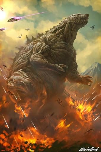 Godzilla Anime Wallpapers Mod Apk - apkmodfree.com