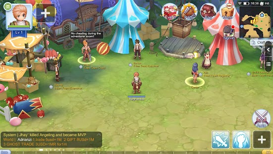 Ragnarok M: Eternal Love(ROM) Screenshot