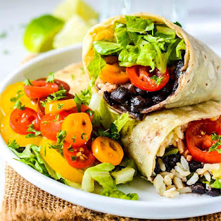 Black Bean Burritos.