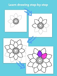 How To Draw Flowers APK screenshot thumbnail 11