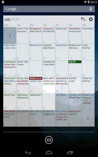 Business Calendar Beta screenshot 22