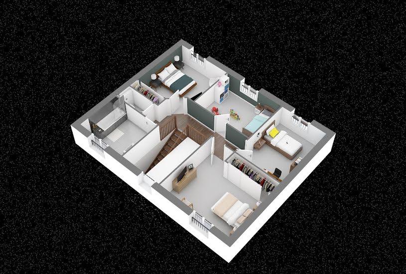 Vente Terrain + Maison - Terrain : 540m² - Maison : 122m² à Saint-Rémy-lès-Chevreuse (78470)