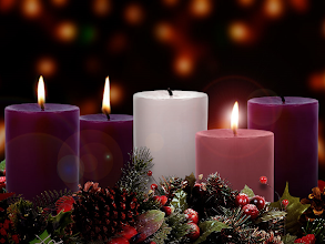 """Photo: Third Week of Advent ~ The Candle of Love  """"Blessed be the Lord God of Israel,   for he has visited and redeemed his people     and has raised up a horn of salvation for us   in the house of his servant David,     as he spoke by the mouth of his holy prophets from of old,   …that we, being delivered from the hand of our enemies,     might serve him without fear,   in holiness and righteousness before him all our days.""""  """"And you, child, will be called the prophet of the Most High;   for you will go before the Lord to prepare his ways,     to give knowledge of salvation to his people   in the forgiveness of their sins,     because of the tender mercy of our God…""""                                      –Selections from Luke 1:68–79 """"Benedictus""""  For God so loved the world, that he gave his only Son,   that whoever believes in him should not perish but have eternal life.                                                – John 3:16  GOD SO LOVED THE WORLD ~ Series: The Baby Who Changed The World ~ Message: He Divides The World; https://sites.google.com/site/biblicalinspiration1/biblical-inspiration-1-now-thank-we-all-our-god-changed-by-worship-the-moody-church/biblical-inspiration-1-o-come-o-come-emmanuel-series-the-baby-who-changed-the-world-message-he-redeems-the-world-the-moody-church/biblical-inspiration-1-joy-to-the-world-series-the-baby-who-changed-the-world-message-he-confounds-the-world-the-moody-church/biblical-inspiration-1-god-so-loved-the-world-series-the-baby-who-changed-the-world-message-he-divides-the-world-the-moody-church"""