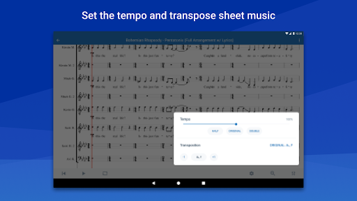 MuseScore: view and play sheet music 2.4.36 11