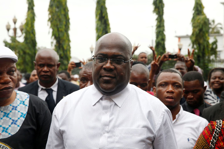 Felix Tshisekedi, leader of the Union for Democracy and Social Progress, in Kinshasa, Democratic Republic of Congo, on January 10 2019. Picture: REUTERS/BAZ RATNER