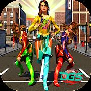 Super Flash Speed Girl Warrior