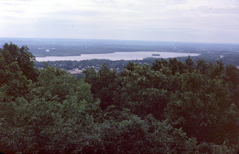 Photo: Boonton reservoir from tower-top