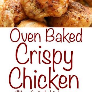 Oven Baked Crispy Chicken Recipe