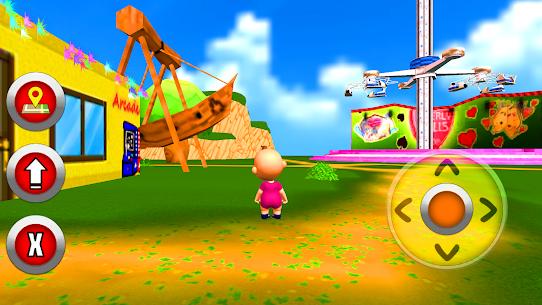 طفل حديقة المرح – ألعاب الطفل 3