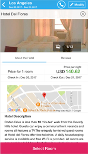 Hotelwiz- screenshot thumbnail
