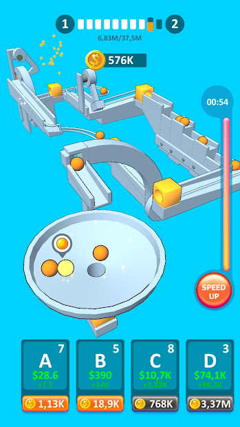 Physics Puzzle Idle Android App Screenshot