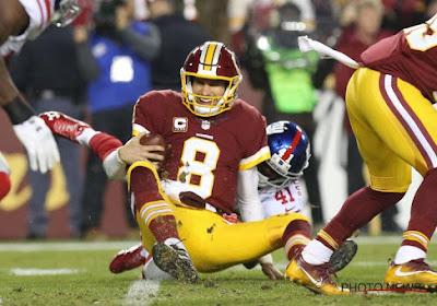 Kirk Cousins clame encore son amour pour les Redskins