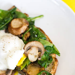 Spinach Mushroom Breakfast Recipes.