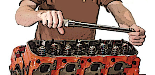 Torque Wrench gives you the recommended moments of tightening the screws
