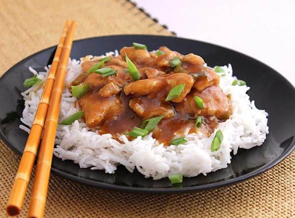 Orange Chicken - Low In Calorie.