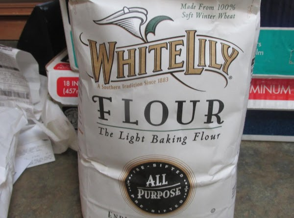 Measure out the flour into a medium size bowl then add the salt, and...