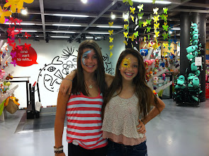 Photo: Beautiful Face Painting at Casa Ideas - Sunset Place Maimi. http://www.BestPartyPlanner.net