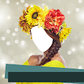 Flowers Hairstyle Photo Editor APK