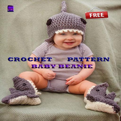Crochet Pattern Baby Beanie 生活 LOGO-玩APPs