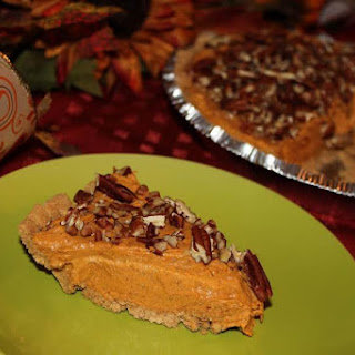 Butterscotch Pumpkin Pudding Cheesecake.