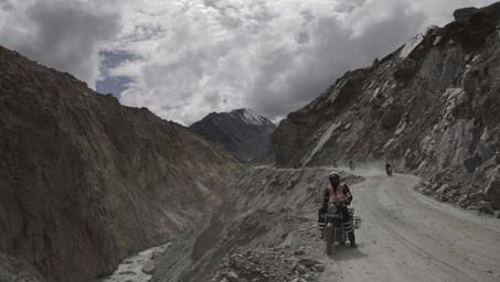 L'inde à moto