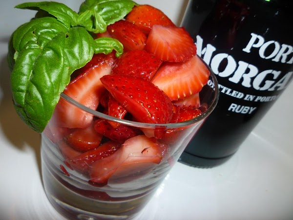 Strawberries In Port (morangos Em Porto) Recipe