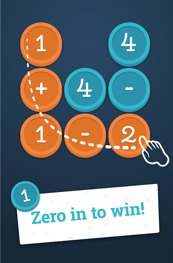 Screenshots of Math Academy: Zero in to Win! for iPhone