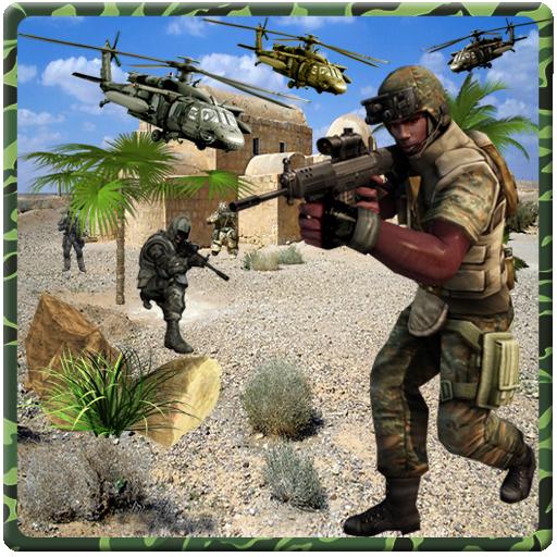 在敌营单独突击队 動作 App LOGO-APP試玩