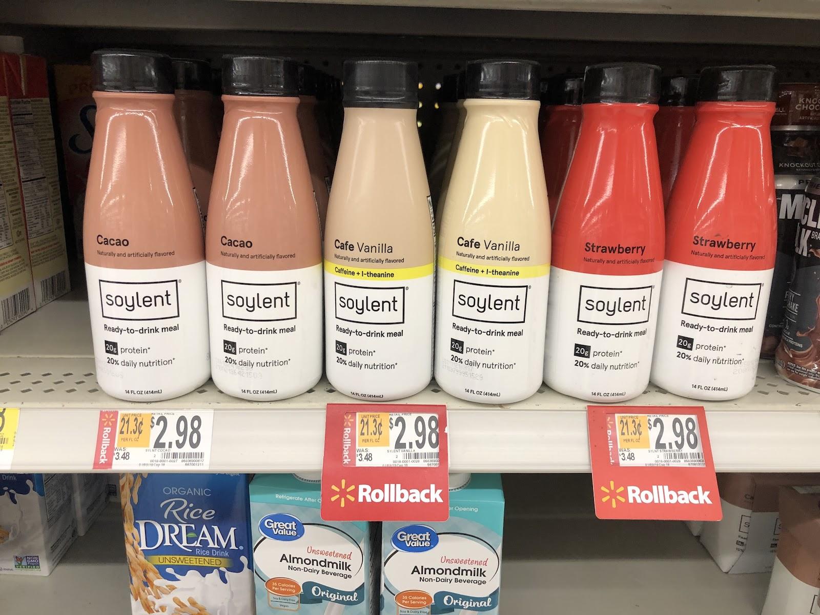 Soylent - Walmart Brand Partnership (DTC Growth)