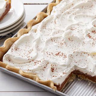 French Silk Slab Pie.