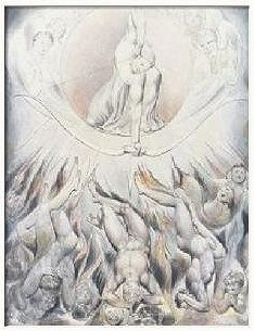 Rout of the Rebel Angels, by William Blake
