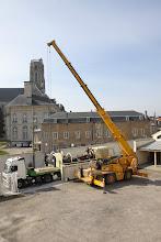 Photo: ... le Fardier, l'Hôtel de Ville et la Cathédrale...